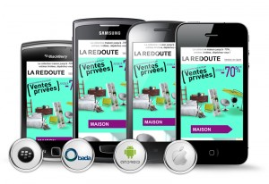 Emailing web responsive La Redoute