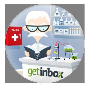 GetInBox test e-mailing