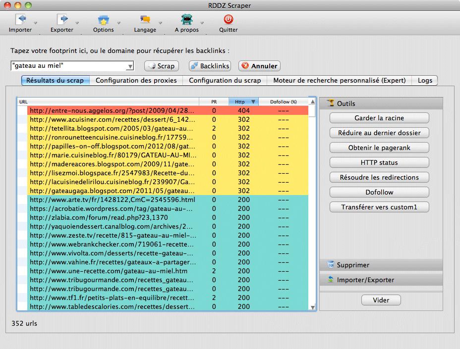 RDDZ Web Scraper
